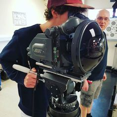 So how wide is too wide?  Photo by @sweetsensi1 Tag someone who needs a wider lens #camera #gear #arri #videoshoot #lens #widelens #wideangle #crewlife #videography #dope #videomaker #lensculture