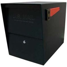 """Mail Boss Package Master Commercial Locking Mailbox Black by EPOCH DESIGN LLC dba MAIL BOSS. $249.00. Mail Boss Package Master Commercial Locking Mailbox Black The Mail Boss Package Master Commercial Locking Mailbox is the ultimate security mailbox for receiving small packages and parcels and securely storing weeks of mail. This extra-large capacity mailbox features patented """"Mail Shield"""" technology, so unlike with other bin-mailers, your mail and packages are safe from fis..."""