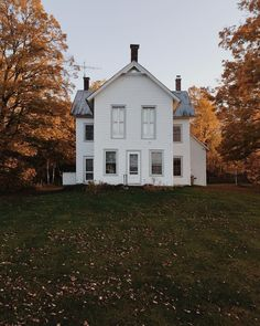 White Farmhouse