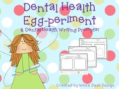 February is Dental Health Awareness Month! Use this product to introduce science procedures with a great life lesson on dental health and caring for teeth. Extend it with writing responses about teeth care, the tooth fairy and a cut and paste about healthy foods.
