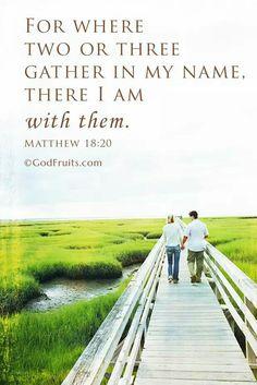 Matthew 18:20
