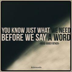 ~ Good, Good Father ~