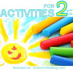 40 Activities for Two Year Olds. Fine motor, sensory, and more. - Broken down by categories, click to find out more about each activity.
