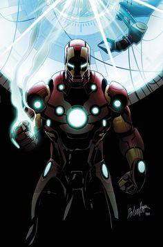 Salvador Larroca - Iron Man