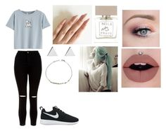 """""""Tuesday"""" by isabellasmall on Polyvore featuring New Look, NIKE, Bella Freud, Jennifer Meyer Jewelry and MaBelle"""