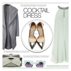 """Cocktail Dress"" by irena123 ❤ liked on Polyvore featuring moda, Adrianna Papell, Jimmy Choo, Gasoline Glamour, ONLY e Miss Selfridge"