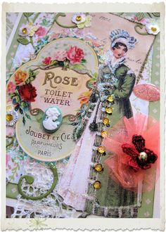 Handmade card Regency mother and daughter | Flickr - Photo Sharing