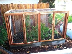 There's nothing worse than planting that perfect garden only to have it decimated by critters. One nightly visit by a four-legged friend can wipe you out completely. Some friend! I've been working with my good pal Justin Lowman to create a great-looking, sturdy hutch that will keep varmints out, but still allow light and rain, …