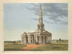 The Kirk in 1841, Egmore - Madras