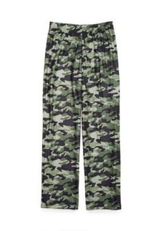 Jellifish Kids Knit Sleep Pants Boys 4-20 - Khaki Camo - Xxlarge