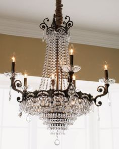 """Alexandria"" Chandelier at Horchow. Entryway (Dream home) #horchow"