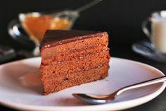 World Famous Chocolate Sacher Cake
