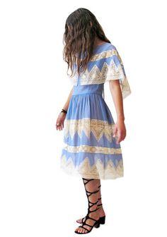 Wonderland Blue Dress