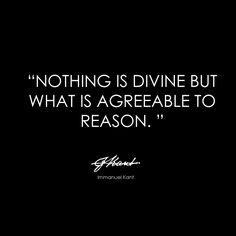 Kant - Divinity