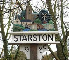Starston English Village, Decorative Signs, Place Names, Name Signs, Norfolk, Prehistoric, Signage, Britain, Places