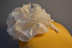 Silk hydrangea in crepe morocain. Silk Hydrangea, Silk Flowers