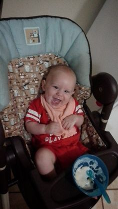 Unpluckable: Our Smiling Baby Boy