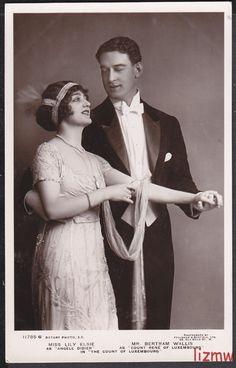 Lily Elsie & Bertram Wallis