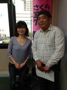 cafe@さくら通りパーソナリティー近藤栄さんと http://kumahachi.me/
