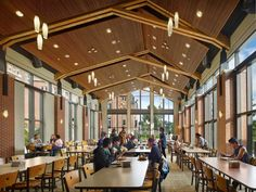 Cornell College Thomas Commons Student Center | Architect Magazine | KSS Architects, Mt Vernon, IA, USA, Education, Addition/Expansion, Renovation/Remodel, Architectural Detail, Outdoor, Specialty Room, Traditional, Other, Association of College Unions International Facility Design Award 2015