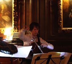 Gregor Riddell with the Odysseus Piano Trio performing at Cliveden on Sunday evening. www.amadeclassica... odysseustrio.com/ www.clivedenhouse...
