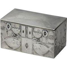 Josef Hoffmann (1870-1956), Wiener Werkstätte, Silver Box.