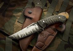 The Combat #4 by Burt Foster Knives