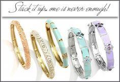 stackables with enameling