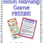 The Noun Naming Game reinforces the categorizing of nouns in a fun and hands-on game! Students will love to compete against their partners in a rac...