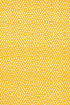 Beautiful bright yellow rug by Dash & Albert. I need this one for my Living room!