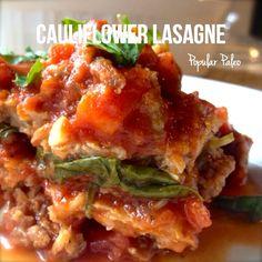 Cauliflower Lasagne