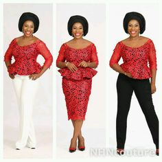 Image result for lace aso ebi styles