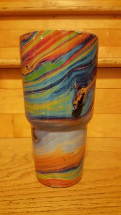 Hey, I found this really awesome Etsy listing at https://www.etsy.com/listing/483334363/oil-slick-30-oz-tumbler