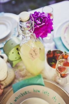 Disney Dream Wedding ~ Go down the rabbit hole for a tea party with the Mad Hatter and friends.