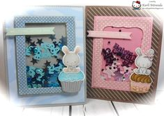 No Bulk Shaker cards by maestra - Cards and Paper Crafts at Splitcoaststampers