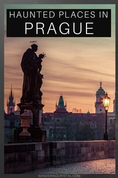11 Terrifyingly Haunted Places in Prague - Wandering Crystal Prague Old Town, Prague Castle, Edinburgh Travel, Prague Travel, Prague Things To Do, Alberta Travel, St Nicholas Church, Ghost Walk, Destinations