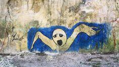 "Yulier Rodríguez Pérez: ""We are souls in a purgatory called Cuba"" / Luz Escobar Cuba Street, Street Art, Graffiti, Havana, Art Projects, Artist, Painting, Kunst, Artists"
