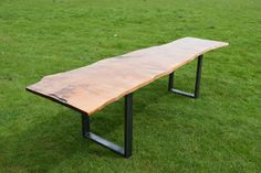 Check out this item in my Etsy shop https://www.etsy.com/uk/listing/279239486/solid-wood-beech-industrial-style-dining