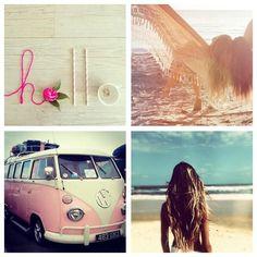 beautifully boho boho - ☮k☮ Hello Summer, Summer Sun, Summer Of Love, Summer Nights, Summer Beach, Summer Vibes, Volkswagen, Vw T1, Hippie Love