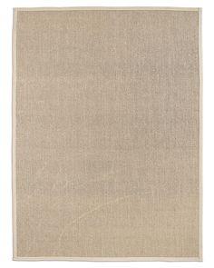 Textured Weave Sisal Rug - Ivory