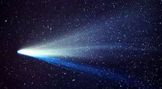 Credit: John LabordeThis photograph of Comet West, one of the greatest comets of all-time, was taken by amateur astronomer John Laborde. The picture shows the two distinct tails. The thin blue ion tail is made up of gases, while the broad white tail is made up of tiny dust particles.