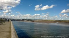 View of Amble Harbour from the Pier - 08.09.13