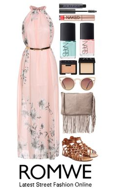 """Pink Boho Queen-Romwe"" by beautyandstylefox ❤ liked on Polyvore"