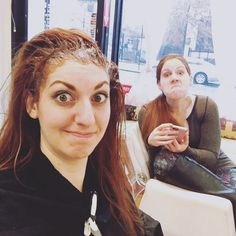Funny things are always happening here at #SparkleBeautyParlor ;) Have fun with us today! #TBT #HairSalon #NYC #Hair #HairTransformation #HairSalon #Manhattan #EastHarlem #HairCut #HairStyle #NYCLife #Balayage #HairColor #instahair #instagood #brunette #gorgeous #hair