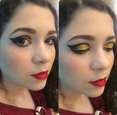 A Nicolle é cliente da NYX do Shopping Boulevard Belém e queria aprender uma maquiagem noturna bem festiva e marcou uma consultoria exclusiva com o nosso Beauty Team. Foto da consultora @catha_94