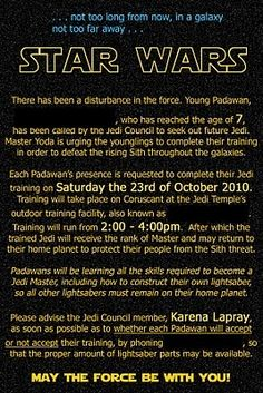 Star wars party invitations birthday party ideas pinterest star wars party invitations birthday party ideas pinterest star wars party invitation wording and party invitations stopboris Gallery
