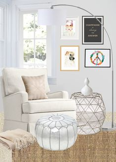 Copy Cat Chic: Copy Cat Chic Room Redo | Shimmery Reading Nook