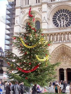 Parisian Christmas Tree