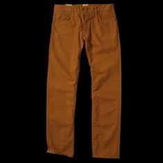 UNIONMADE - Carhartt - Klondike pant in Rigid Carhartt Brown
