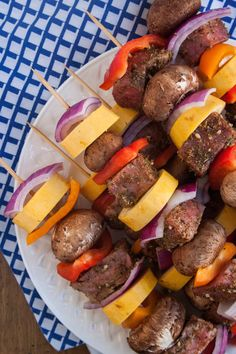 ... about Kebab-a-licious! on Pinterest   Kabobs, Shish kabobs and Kebabs
